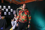 """Dr. Sindsen: Modenschau - Livestream, """"Wir setzen ein Zeichen - Gegen Mobbing, Berlin, 18.07.2020<br /> Boxer Björn Schicke<br /> © Torsten Helmke"""