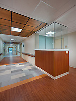 Interior photo of 5th floor at United Medical Center in Washington DC by Jeffrey Sauers of Commercial Photographics, Architectural Photo Artistry in Washington DC, Virginia to Florida and PA to New England