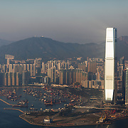 At 118 storeys International Commerce Centre on Kowloon is the tallest building in Hong Kong and the eighth tallest in the world. 7 million people live on 1,104km square, making it Hong Kong the most vertical city in the world.