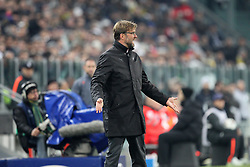 24.02.2015, Veltins Arena, Turin, ITA, UEFA CL, Juventus Turin vs Borussia Dortmund, Achtelfinale, Hinspiel, im Bild enttaeuschung bei Chef-Trainer Juergen Klopp (Borussia Dortmund) // during the UEFA Champions League Round of 16, 1st Leg match between between Juventus Turin and Borussia Dortmund at the Veltins Arena in Turin, Italy on 2015/02/24. EXPA Pictures © 2015, PhotoCredit: EXPA/ Eibner-Pressefoto/ Kolbert<br /> <br /> *****ATTENTION - OUT of GER*****