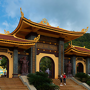 Gates of Ho Quoc Temple in Phu Quoc, Vietnam