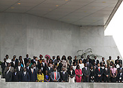 Aspect of the bench reserved for the family of the president of the republic, during the Swearing in Ceremony that took place at the republic square in Luanda, today September 26.