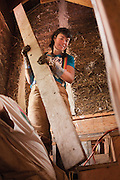 Flying Hammer specializes in straw bale construction in Portland, Oregon
