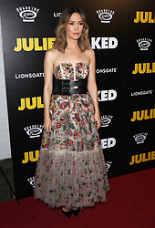 August 15, 2018 - New York City, New York, USA - 8/14/18.Rose Byrne at the premiere of ''Juliet, Naked'' Premiere in New York City. (Credit Image: © Starmax/Newscom via ZUMA Press)