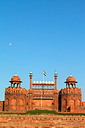 The Red Fort, Lal Qila, Old Delhi, India,