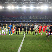 Fenerbahce's and Spartak Moscow's during their UEFA Champions League Play-Offs, 2nd leg soccer match Fenerbahce between Spartak Moscow at Sukru Saracaoglu stadium in Istanbul Turkey on Wednesday 29 August 2012. Photo by TURKPIX