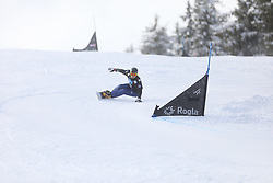Wild Vic during the FIS snowboarding world cup race in Rogla (SI / SLO) | GS on January 20, 2018, in Jasna Ski slope, Rogla, Slovenia. Photo by Urban Meglic / Sportida