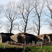 Outskirts of Yper (Ieper), Belgium 09 February 2004<br /> British bunker in the outskirts of Yper. <br /> Photo: Ezequiel Scagnetti