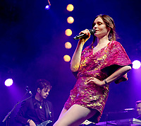 Sophie Ellis-Bextor at the  Isle Of Wight Festival 2021 photo by Dawn Fletcher Park
