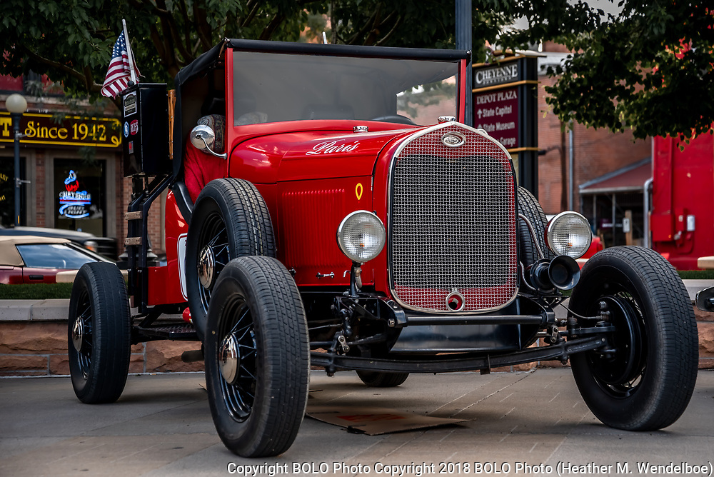 1929 Ford Model A owned by Jack and Mary Crabtree
