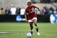 04 December 2011: Stanford's Lindsay Taylor. The Stanford University Cardinal defeated the Duke University Blue Devils 1-0 at KSU Soccer Stadium in Kennesaw, Georgia in the NCAA Division I Women's Soccer College Cup Final.