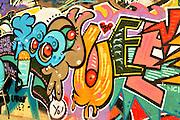 Graffiti Photographed in Tel Aviv, Israel