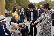 STEPHEN HANSON, CHERYL EVANS FROM YORKSHIRE, JOHN JONES AND FRANCES JONES FROM WINCHESTER,, JAPANESE, MAN IS A SINGER, LADY IS AN ACTRESS, Qatar Prix de l'Arc de Triomphe, Longchamp, Paris, 6 October 2019