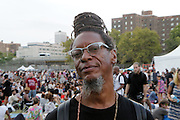 August 23, 2015- Brooklyn, NY-United States:  Recording Artist Michel attends the 2015 AFROPUNK Festival on August 23, 2015 held at Commodore Barry Park in Brooklyn, New York City.  AFROPUNK is an influential community of young, gifted people of all backgrounds who speak through music, art, film, comedy, fashion and more. Originating with the 2003 documentary that highlighted a Black presence in the American punk scene, it is a platform for the alternative and experimental.  (Terrence Jennings/terrencejennigs.com)