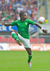 29.07.2012, Benteler-Arena, Paderborn, GER, 1.FBL, FSP, SC Paderborn vs SV Werder Bremen, im Bild Eljero Elia (SV Werder Bremen #11) bei der Ballannahme // during Friendly Match between SC Paderborn 07 and SV Werder Bremen at the Benteler Arena, Paderborn, Germany on 2012/07/29. EXPA Pictures © 2012, PhotoCredit: EXPA/ Andreas Gumz