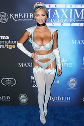 2017 MAXIM Halloween Party held at Los Angeles Center Studios on October 21, 2017 in Los Angeles, California. 21 Oct 2017 Pictured: Lindsey Pelas. Photo credit: IPA/MEGA TheMegaAgency.com +1 888 505 6342