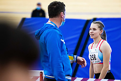 Brina Likar during Slovenian Indoor Championship, Olympic centre Novo Mesto, 14 February 2021, Novo Mesto, Slovenia. Photo by Grega Valancic / Sportida