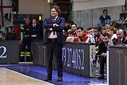 DESCRIZIONE : Eurolega Euroleague 2015/16 Group D Dinamo Banco di Sardegna Sassari - Brose Basket Bamberg<br /> GIOCATORE : Andrea Trinchieri<br /> CATEGORIA : Allenatore Coach<br /> SQUADRA : Brose Basket Bamberg<br /> EVENTO : Eurolega Euroleague 2015/2016<br /> GARA : Dinamo Banco di Sardegna Sassari - Brose Basket Bamberg<br /> DATA : 13/11/2015<br /> SPORT : Pallacanestro <br /> AUTORE : Agenzia Ciamillo-Castoria/L.Canu
