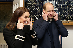The Duke and Duchess of Cambridge visit the factory of Acme Whistles, a family firm in Birmingham which was founded in 1870 and exports to 119 countries around the world.