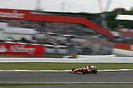 2009 Formula 1 Santander British Grand Prix at Silverstone in Northants, Great Britain. action from Friday practice on 19th June 2009. Felipe Massa of Brazil drives his Ferrari F1 car..