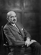 Dr Chaim Weizmann, zionist, chemist and politician, 1929