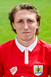 Luke Ayling poses for a head shot - Photo mandatory by-line: Rogan Thomson/JMP - 07966 386802 - 04/08/2014 - SPORT - FOOTBALL - BCFC Training Ground, Failand - Bristol City, 2014/15 Team Photos.