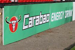 Carabao energy drink signage