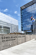Long Beach Civic Center, City Hall and Port of Long Beach Buildings