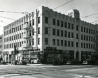 1937 Central Casting's offices at Western Ave. & Hollywood Blvd.