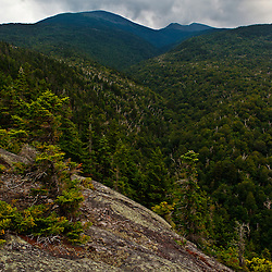 View of Mount Madison from Dome Rock in New Hampshire's White Mountain National Forest.