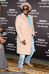 """(L-R) Sean """"Diddy"""" Combs attends the photocell for The Pirelli 2018 Calendar by Tim Walker Launch Press Conference at the Pierre Hotel in New York, NY, on November 10, 2017. (Photo by Anthony Behar/Sipa USA)"""