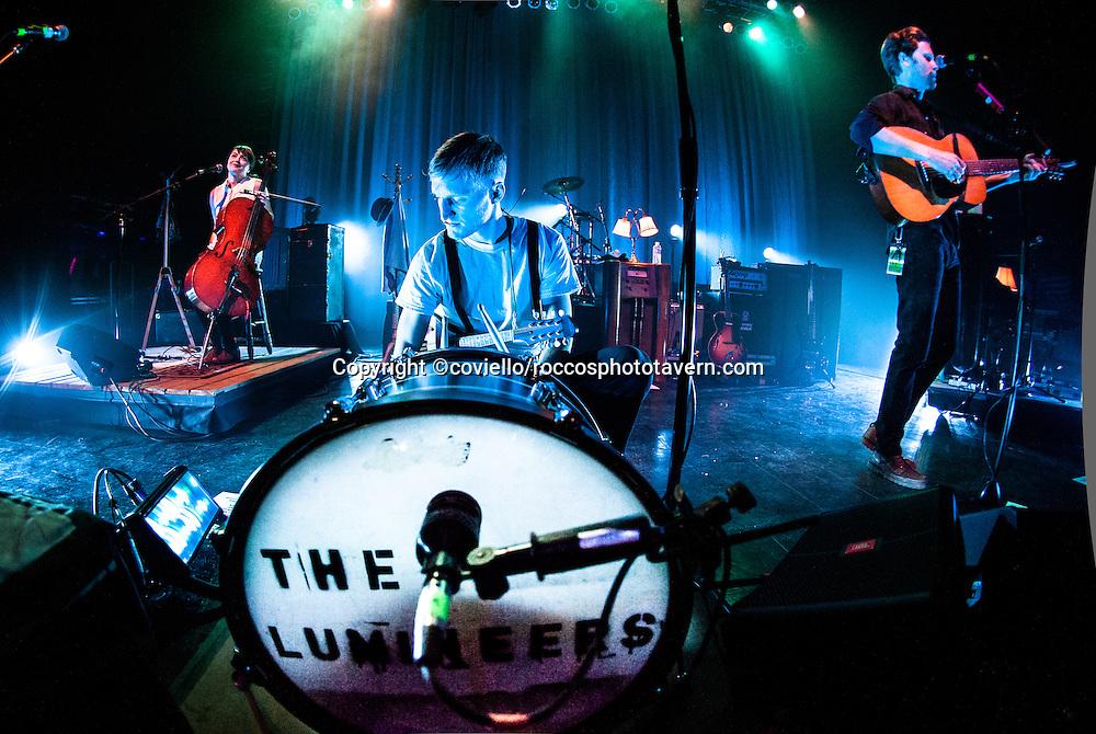 Lumineers at Boston House of Blues 2013.