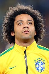 Marcelo, lateral da Seleção Brasileira de Futebol. FOTO: Jefferson Bernardes/ Agência Preview