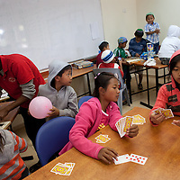 Members of Bnei Menashe at the absorption center in Givat Haviva in Israel, a few weeks after their immigration. Photo by Michal Fattal