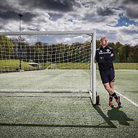 30/04/15 Gawthorpe Hall Training Ground, Padiham , Burnley, Lancs . Sean Dyche manager of Burnley