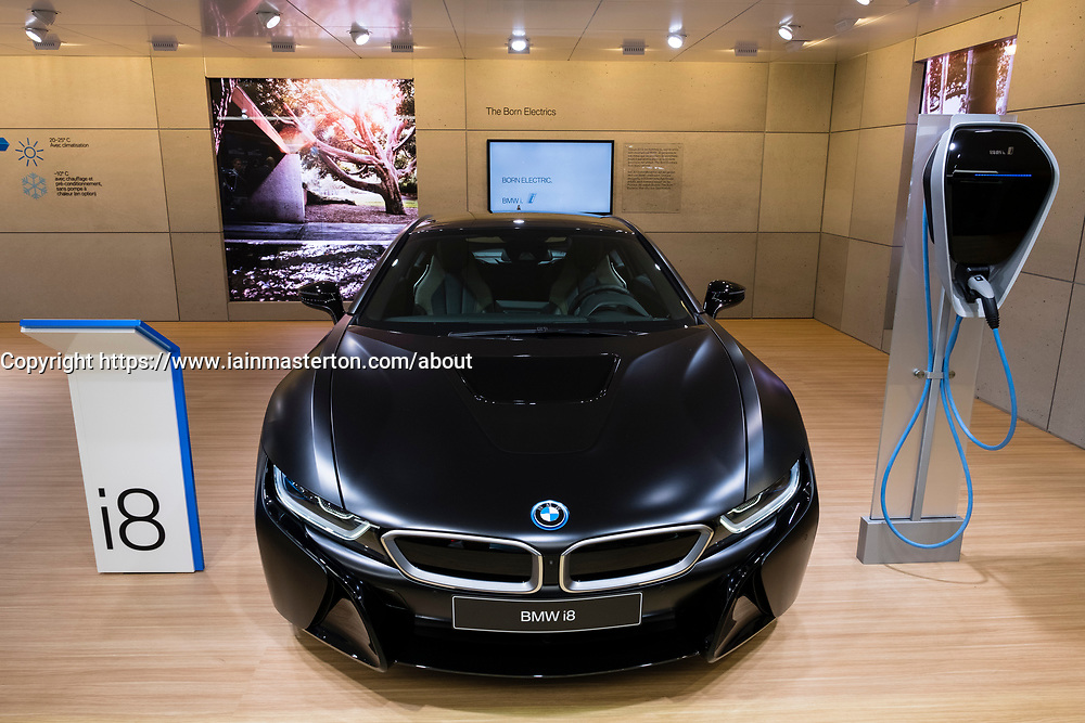 World Premiere of BMW i* proteinic hybrid car at Geneva International Motor Show 2017