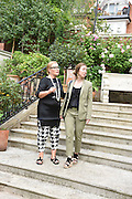 CHARLOTTE PHILLLIPS; CANDIDA GERTLER, Dinner to celebrate the 10th Anniversary of Contemporary Istanbul Hosted at the Residence of Freda & Izak Uziyel, London. 23 June 2015