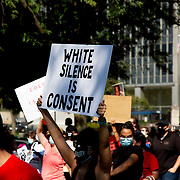Black Lives Matter movement March on Kansas City, September 4, 2020.