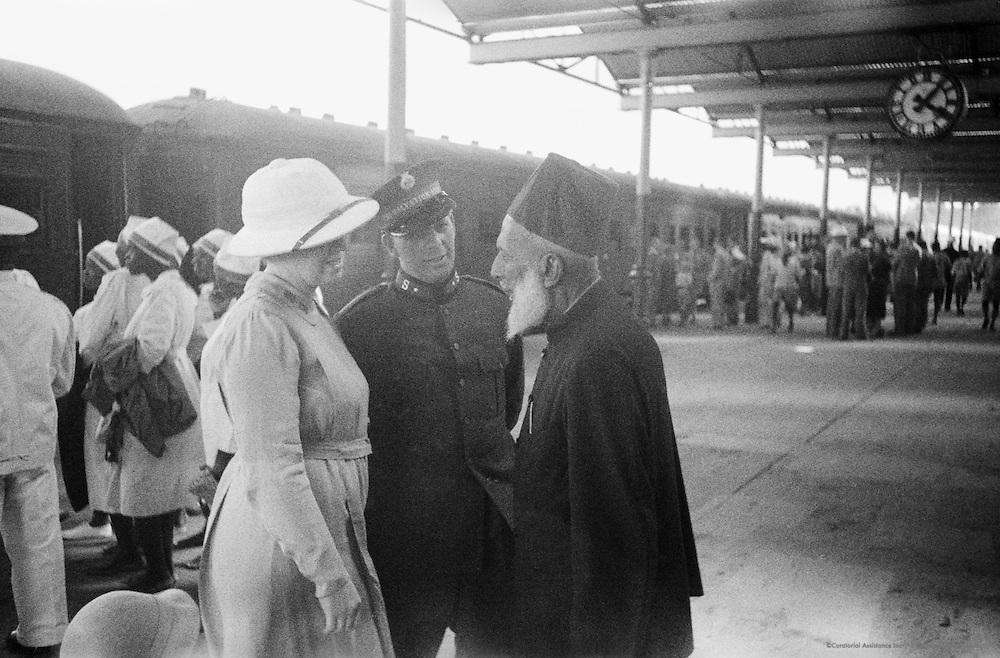 Train Station, Uganda, Africa, 1937