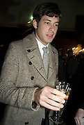 MARK RONSON, European Film premiere of Sweeny Todd,  Odeon Leicester Sq. and party afterwards at the Royal Courts of Justice. 10 January 2008. -DO NOT ARCHIVE-© Copyright Photograph by Dafydd Jones. 248 Clapham Rd. London SW9 0PZ. Tel 0207 820 0771. www.dafjones.com.