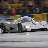 #31, Mercedes C11 ,       Bob Berridge, Group C,    Le Mans 24H, 2012