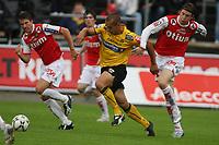 Fotball Adeccoliga 1 divisjon <br />Bryne Stadion 200708<br /> Bryne - Moss<br />Foto: Sigbjørn Andreas Hofsmo, Digitalsport<br />Mahmoud Haj El