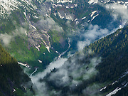 Headwaters of Goodell Creek from The Barrier, North Cascades National Park, Washington.