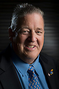 DALLAS, TX - JULY 21:  Kansas head coach Charlie Weis poses for a portrait during the Big 12 Media Day on July 21, 2014 at the Omni Hotel in Dallas, Texas.  (Photo by Cooper Neill/Getty Images) *** Local Caption *** Charlie Weis