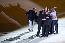 Os campeões de 1976 na Festa Gigante - Reinauguração do Beira-Rio, neste sábado 05 de abril de 2014. O estádio Beira Rio receberá os jogos da Copa do Mundo de Futebol 2014. FOTO: Jefferson Bernardes/ Agência Preview