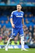 John Terry, the Chelsea captain shouting at this players. Barclays Premier league match, Chelsea v Southampton at Stamford Bridge in London on Sunday 15th March 2015.<br /> pic by John Patrick Fletcher, Andrew Orchard sports photography.