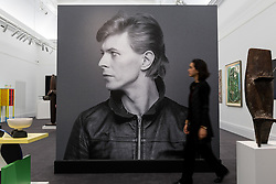 """© Licensed to London News Pictures. 01/11/2016. London, UK. The first look of """"Bowie / Collector"""", artworks from the late David Bowie's personal art collection, ahead of their sale later this month at Sotheby's. Photo credit : Stephen Chung/LNP"""