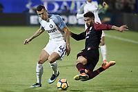 Ivan Perisic-Paolo Farago'<br /> Cagliari 25-11-2017 Sardegna Arena Football Calcio Serie A 2017/2018 Cagliari - Inter Foto Daniele Buffa / Image / Insidefoto