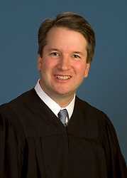 July 9, 2018 - (File Photo) - Judge Brett Kavanaugh, 53, was nominated for the Supreme Court by President Trump Monday evening. Kavanaugh, a federal appeals court judge is an ideological conservative who is expected to push the court to the right on a number of issues.  PICTURED: June 28, 2018 - Maryland, U.S. - FILE - Date Unknown -  BRETT KAVANAUGH of Maryland, U.S. Court of Appeals for the District of Columbia Circuit. (Credit Image: © U.S. Court of Appeals/ZUMA Wire/ZUMAPRESS.com)