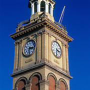 Customs House, Newcastle, NSW, Australia, Clock Tower Detail
